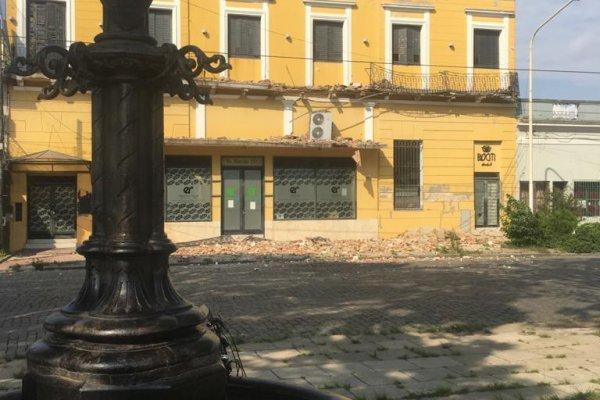 El viejo hotel aloja a la dirección de Hidráulica.
